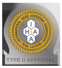 IHAA Approval Seal Type II