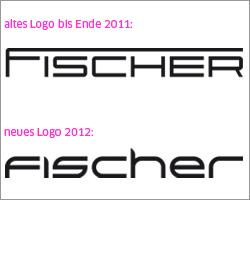 Januar 2012: Grafische Überarbeitung des Fischer-Logos