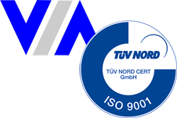 April 2019: Successful re-certification DIN ISO 9001/2015